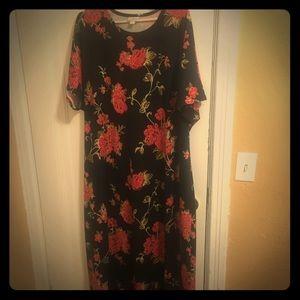 LuLa ROE Marie Dress, Maxi Dress SIZE 3X